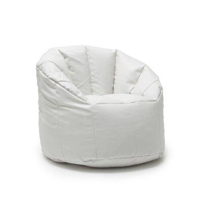 Big Joe Milano Bean Bag Lounger Upholstery: White