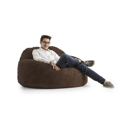 Big Joe Chillum Cloud 9 Bean Bag Lounger Upholstery: Espresso