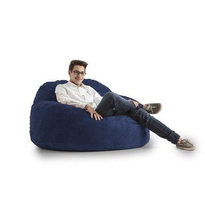 Big Joe Chillum Cloud 9 Bean Bag Lounger Upholstery: Blue Sky