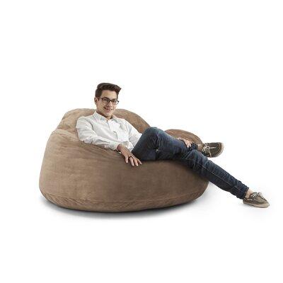 Big Joe Chillum Cloud 9 Bean Bag Lounger Upholstery: Coffee