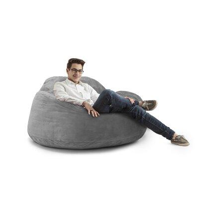 Big Joe Chillum Cloud 9 Bean Bag Lounger Upholstery: Fog