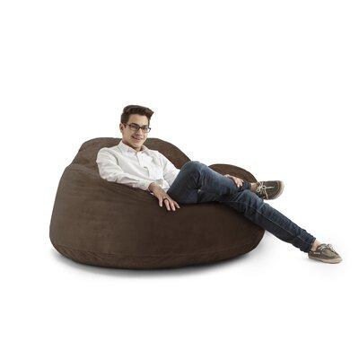 Big Joe Chillum Cloud 9 Bean Bag Lounger Upholstery: Chocolate