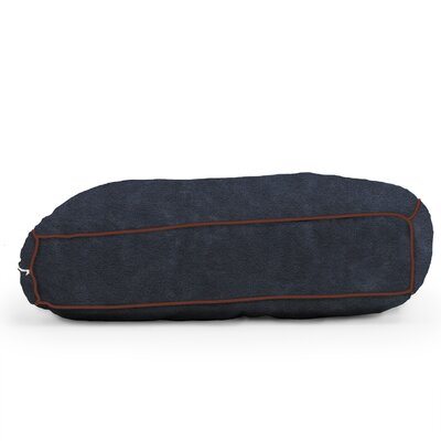 Big Joe Wuf Fuf Microsuede Dog Bed Size: Small (24 L x 18 W), Color: Blue Sky