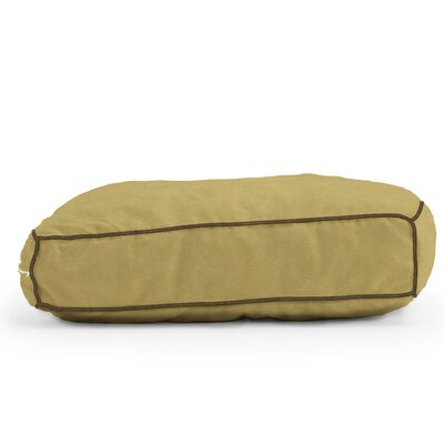 Big Joe Wuf Fuf Microsuede Dog Bed Color: Sand Dune, Size: X-Large (42 L x 28 W)