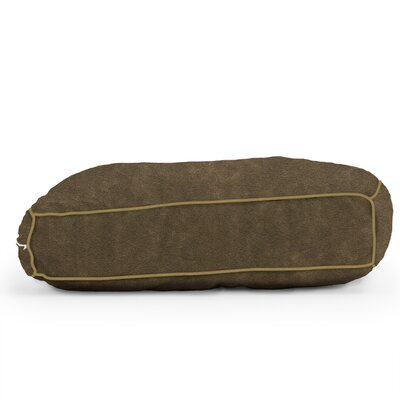 Big Joe Wuf Fuf Microsuede Dog Bed Size: Small (24 L x 18 W), Color: Espresso