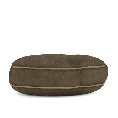 Big Joe Wuf Fuf Microsuede Dog Bed Color: Espresso, Size: Large (42 L x 42 W)