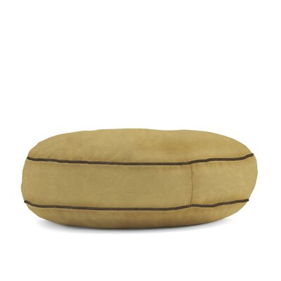 Big Joe Wuf Fuf Microsuede Dog Bed Color: Sand Dune, Size: Large (42 L x 42 W)