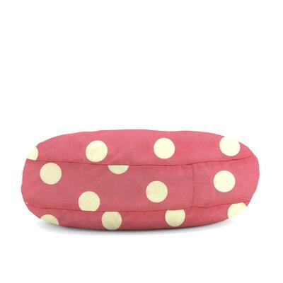 Big Joe Wuf Fuf Round Dot Twill Dog Bed Size: X-Large (50 L x 50 W)