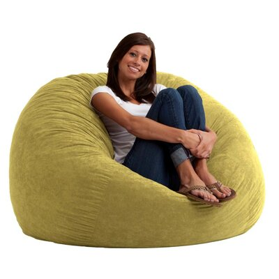 Fuf Bean Bag Chair Upholstery: Comfort Suede Sand Dune