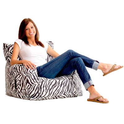 Bean Bag Lounger Color: Zebra