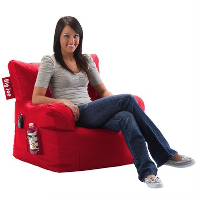 Bean Bag Lounger Color: Flaming Red
