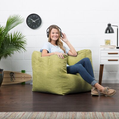 Big Joe Lux Bean Bag Chair Upholstery: Kiwi