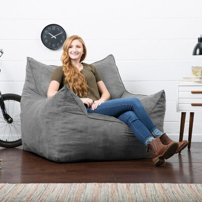 Big Joe Imperial Bean Bag Lounger Upholstery: Cement