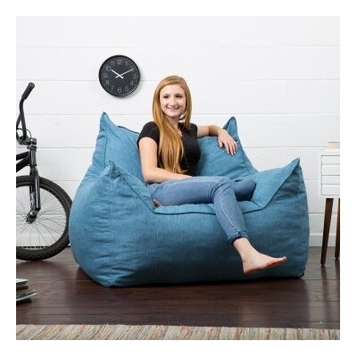 Big Joe Lux Bean Bag Lounger Upholstery: Pacific