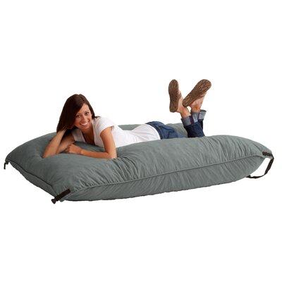 Fuf Bean Bag Lounger Upholstery: Steel Grey