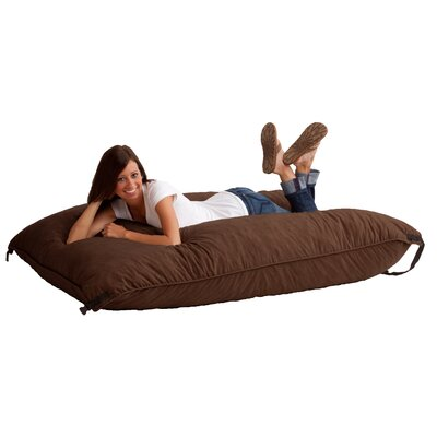 Fuf Bean Bag Lounger Upholstery: Espresso