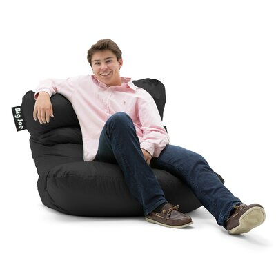 Big Joe Bean Bag Lounger Color: Stretch Limo Black