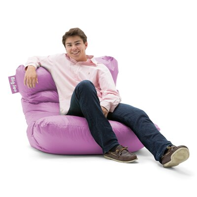 Big Joe Bean Bag Lounger Color: Radiant Orchid