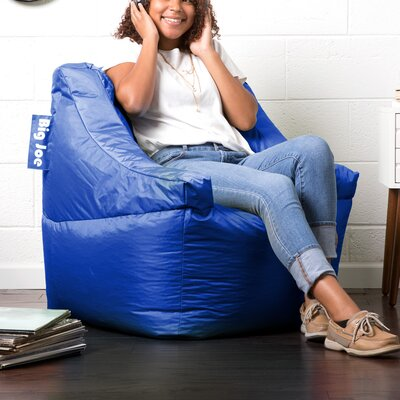 Big Joe Lucky Bean Bag Chair Upholstery: Sapphire