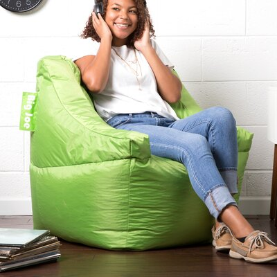 Big Joe Lucky Bean Bag Chair Upholstery: Spicy Lime