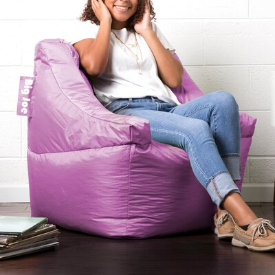Big Joe Lucky Bean Bag Chair Upholstery: Radiant Orchid