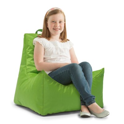Big Joe Scoop Bean Bag Chair Upholstery: Spicy Lime