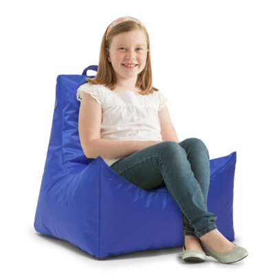 Big Joe Scoop Bean Bag Chair Upholstery: Sapphire