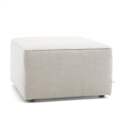 Big Joe Lux Modular Indoor/outdoor Ottoman Fabric: Cast Silver Sunbrella