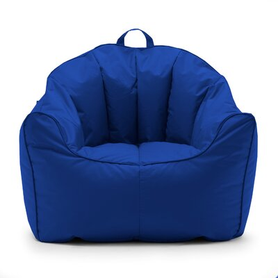 Big Joe SmartMax Hug Bean Bag Chair Upholstery: Sapphire
