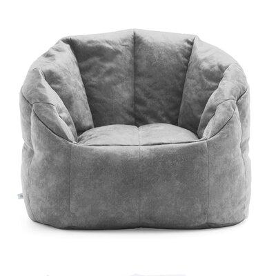 Big Joe Lux Bean Bag Chair Upholstery: Cement