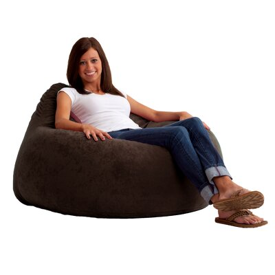 Fuf Chillum Bean Bag Lounger Upholstery: Black Onyx