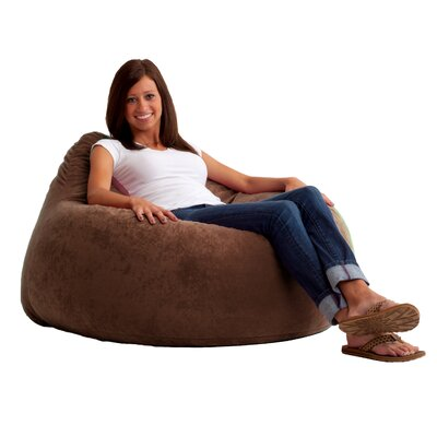Fuf Chillum Bean Bag Lounger Upholstery: Espresso