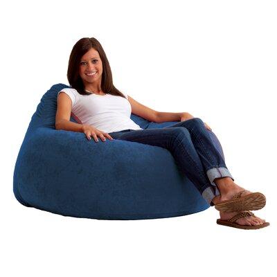 Fuf Chillum Bean Bag Lounger Upholstery: Blue Sky