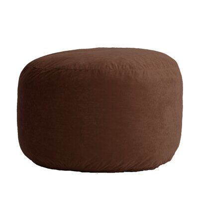 Fuf Bean Bag Chair Upholstery: Comfort Suede Espresso