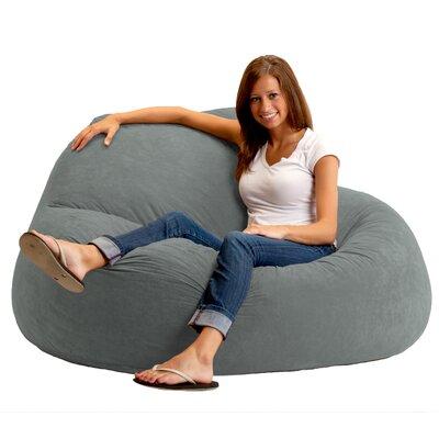 Fuf Bean Bag Sofa Upholstery: Steel Grey