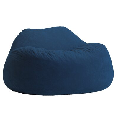 Fuf Bean Bag Sofa Upholstery: Blue Sky