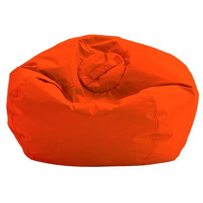 Amazing Orange Bean Bag Chair Onthecornerstone Fun Painted Chair Ideas Images Onthecornerstoneorg