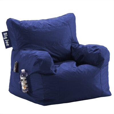 Big Joe Personalized Bean Bag Lounger Upholstery Color: Sapphire