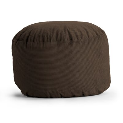 Fuf Bean Bag Chair Upholstery: Wide-Wale Corduroy Chocolate
