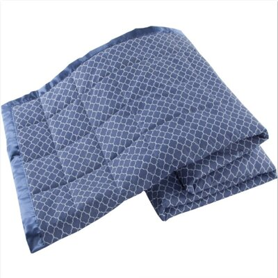 Down Alternative Blanket Color: Denim, Size: Full/Queen