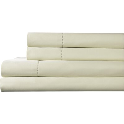 Tuxedo 325 Thread Count 100% Pima Cotton Sheet Set Color: Ivory, Size: Queen