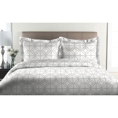 St. Charles 2 Piece Duvet Cover Set Size: Twin, Color: Oyster