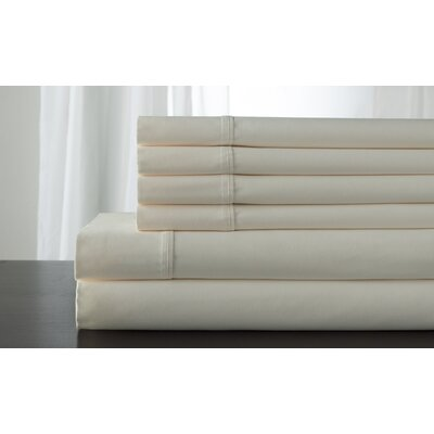 Legacy 300 Thread Count Sheet Set Color: Ivory, Size: Twin