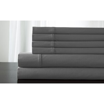 Bukowski 850 Thread Count Sheet Set Size: Queen, Color: Pewter