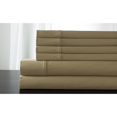 Legacy 300 Thread Count Sheet Set Size: Twin, Color: Cafe