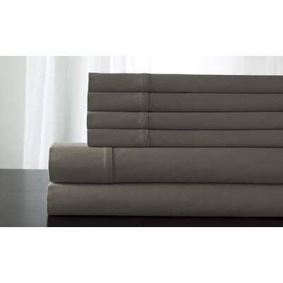 Camden 350 Thread Count 100% Cotton Sheet Set Size: Full, Color: Taupe