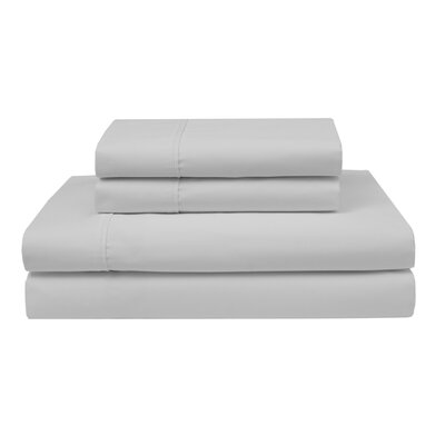 Oskar Wrinkle Free 420 Thread Count 100% Cotton Sheet Set Color: White, Size: Twin
