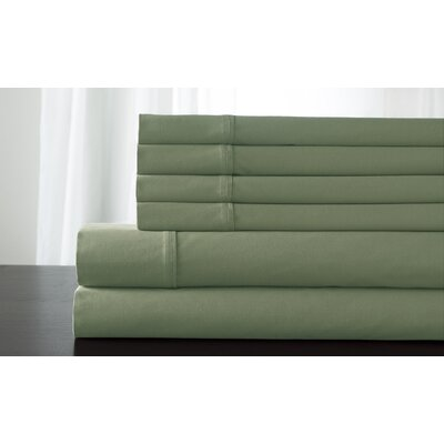 Bukowski 850 Thread Count Sheet Set Size: California King, Color: Laurel Green