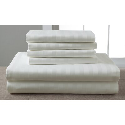 1200 Thread Count Sheet Set Size: King, Color: Ivory