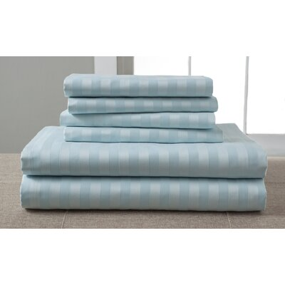 1200 Thread Count Sheet Set Size: King, Color: Spa Blue